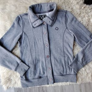 G by Guess Button Down Casual Blazer Jacket
